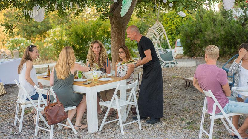 BBQ chef Ibiza huren
